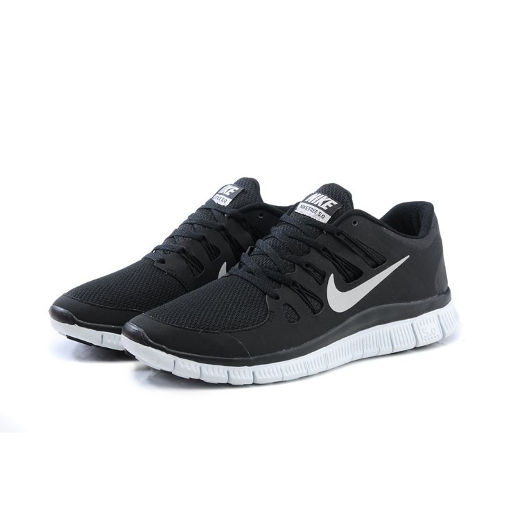 ladies black nike trainers